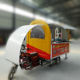 Wholesale electric mobile food carts/electric heated food cart with motor or by trailer