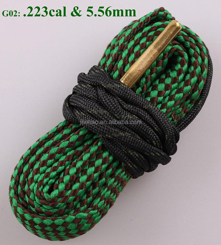 Bore Snake Rifle Cleaner. 223 5.56mm Rifle/<span class=keywords><strong>Pistol</strong></span>/Bore Cleaning Gun bore kabel pembersihan