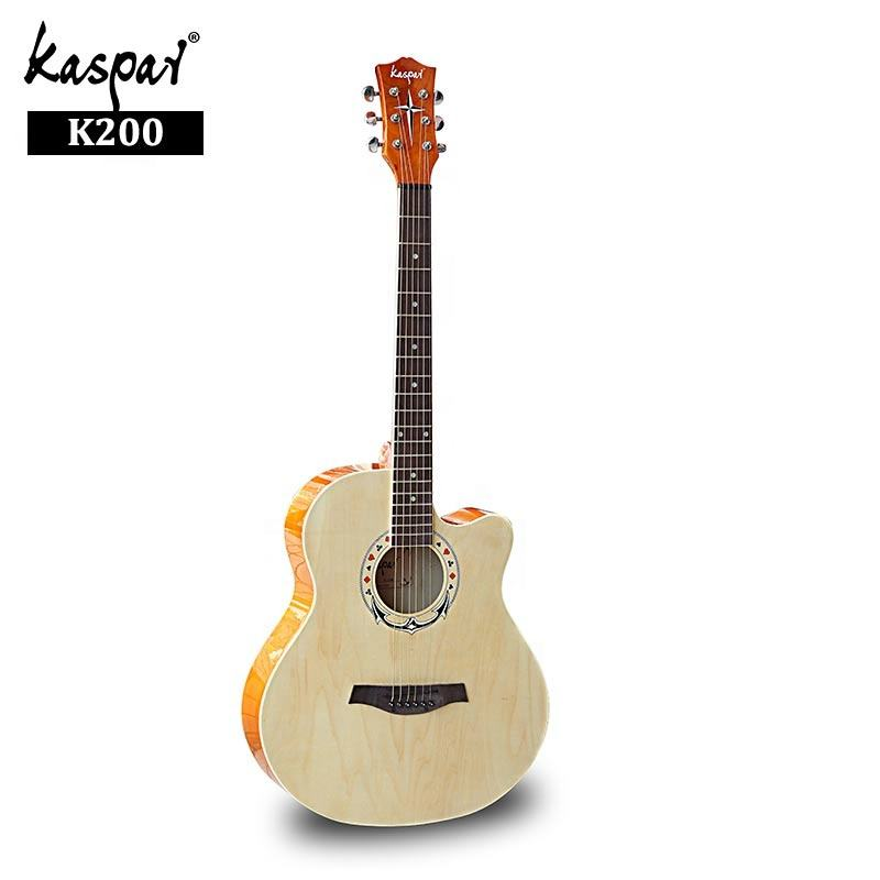 Hot Sale Chinese Guitar 40inch High Quality Resonator Acoustic Electric Guitars for Men Beginners