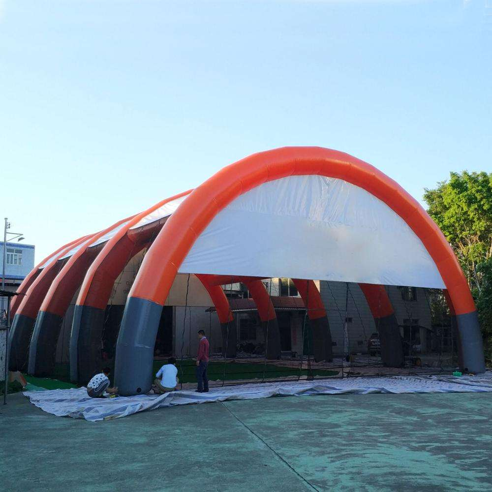 GIANT แบบพกพา Inflatable บังเกอร์ยื่น Inflatable paintball Arena ขาย