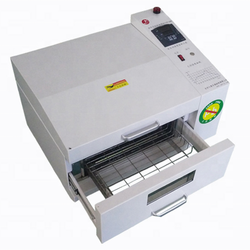 SMT Desktop Lead-free Hot-air Reflow Oven/solder for PCB welding