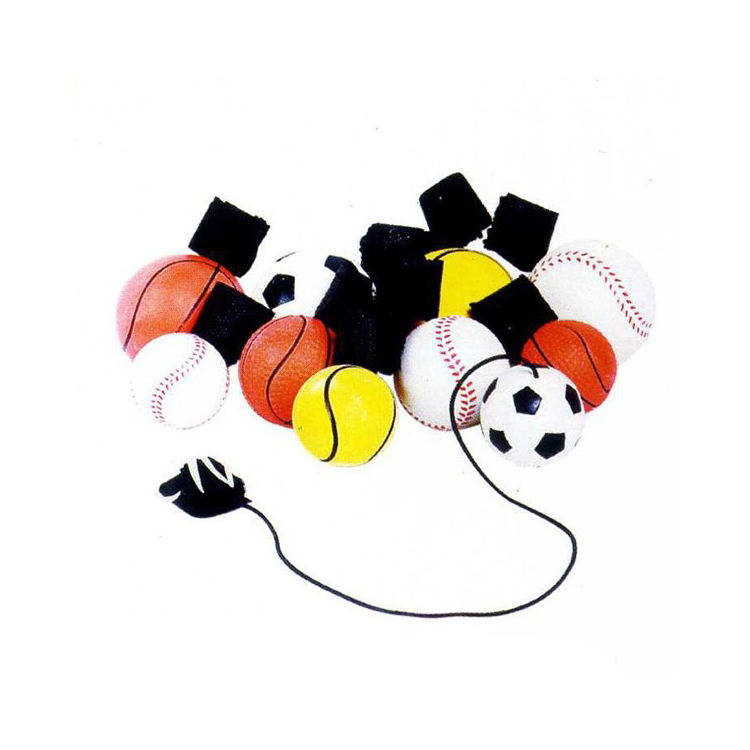 Kids' Promotional Toy Natural Rubber Material Rubber Yo-Yo ball Finger Ball Tether Ball