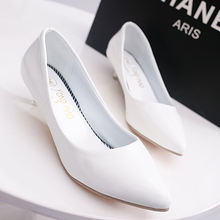 2018 High quality low price High heels 5 colors ladies leather shoes