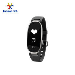 Waterproof IP67 Touch Button Wristband Fitness Activity Tracker Smart Watch Heart Rate Sleep Monitor LED Display Bracelet