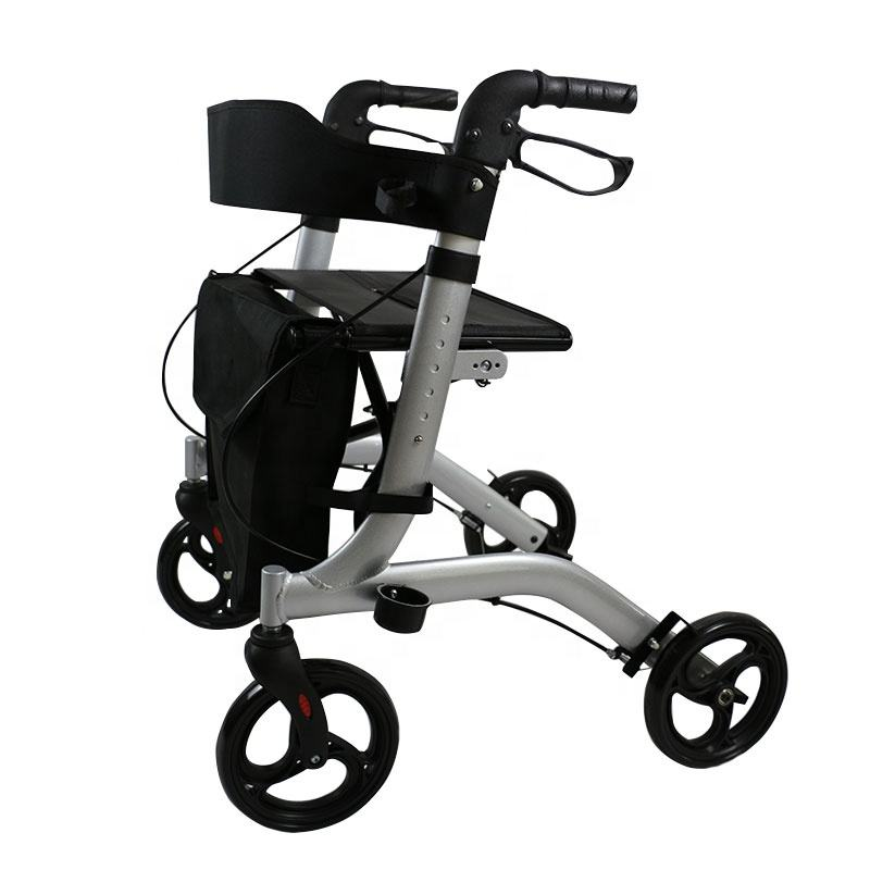 mobility aid walker rollator for adult senior elderly & handicap