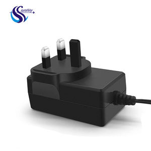 3pin UK Plug Dinding Mount Adapter D-link Universal 12 V 2A 24 W Power Adaptor