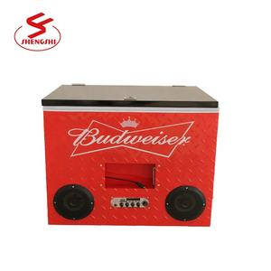 Waterproof Cooler box Insulated Bluetooth Speaker Cooler Box with Radio 6 beer cooler Box