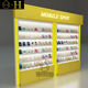 Modern custom made cell phone accessory display rack mobile counter display showcase retail display stands