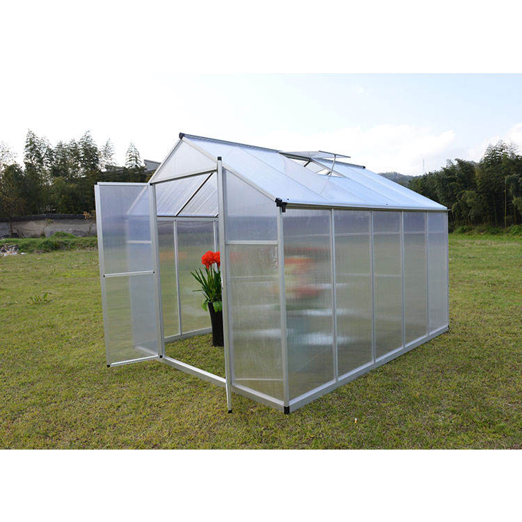 Double-door agriculture small greenhouse garden green house