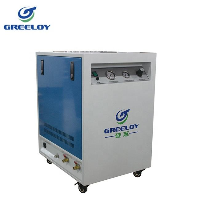 Portable Oilless Vacuum Pump Dryer Compressor with Insonorisation Box