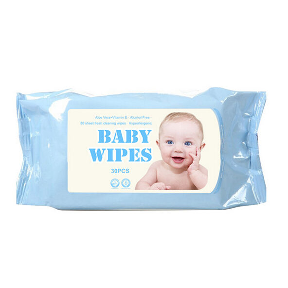 OEM Natural Sanitizing Wipes Safe For Babies Unscented Cleaning Organic Baby Wet Wipes
