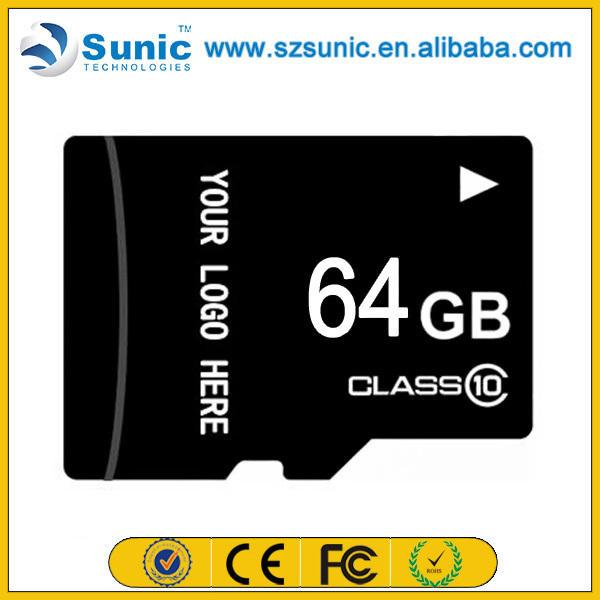 prix de gros carte mémoire sd 8go mise à niveau à 64gb