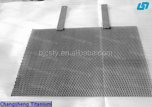 ruthenium iridium and platinum electrode titanium wire mesh for industry