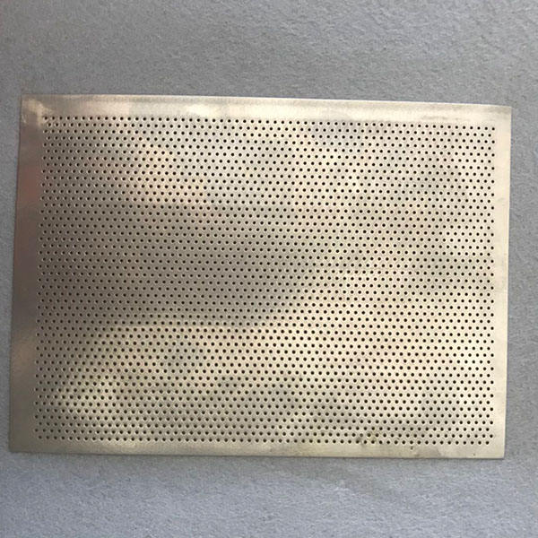 0.5mm Punching Hole Stainless Steel Perforated Mesh plate