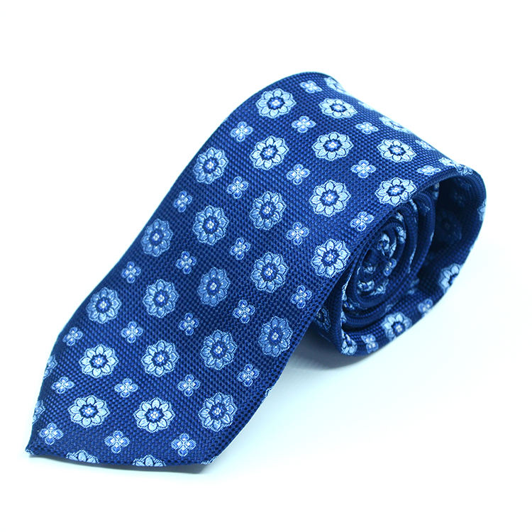 High quality new design manufacture Elegant 100% silk floral neckties handmade custom China