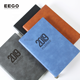 2020 Daily dated free sample oem quality orange black engraved leather felt soft cover a3 a4 diary notebook