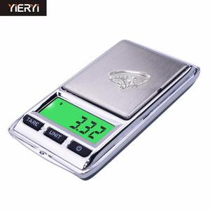 hot sales 100g*0.01g 500gx0.1g Mini Digital Portable LCD Electronic Balance Pocket Jewelry Weighing scale Dual scale