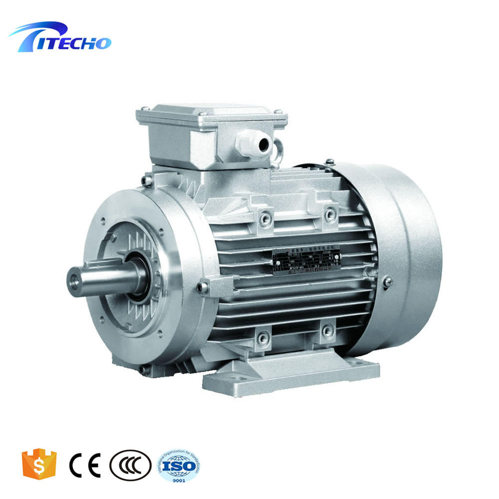 7.5 Kw 10 Hp 3 Phase Electric Motor With Aluminium Housing
