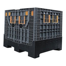 1200*1000*1000mm heavy duty collapsible container/ pallet boxes/plastic storage box