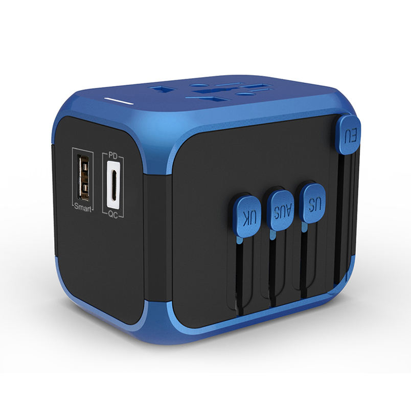 Otravel SL-309PD type-c PD AND QC3.0 technology universal travel adapter