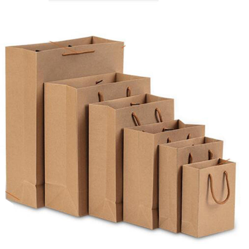 China Supplier Best Factory Direct Cheap Shopping Promotional Kraft Paper Bag