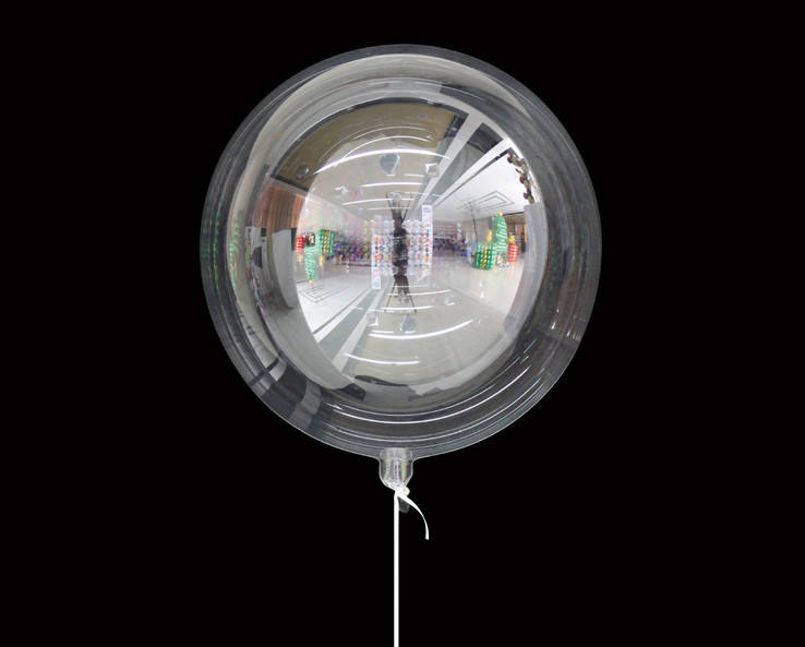 10/18/24/36inch PVC Plastic Bobo Balloon Clear Transparent Round Shape Bubble Balloons For Birthday Party Decoration