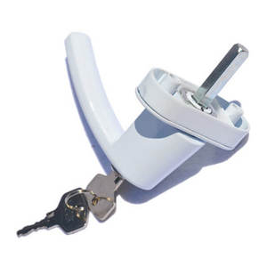 UPVC casement window lock handle with keys hardware fittings