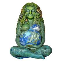 Factory Custom sculpture Millennial Mother Earth Goddess Gaia Statue