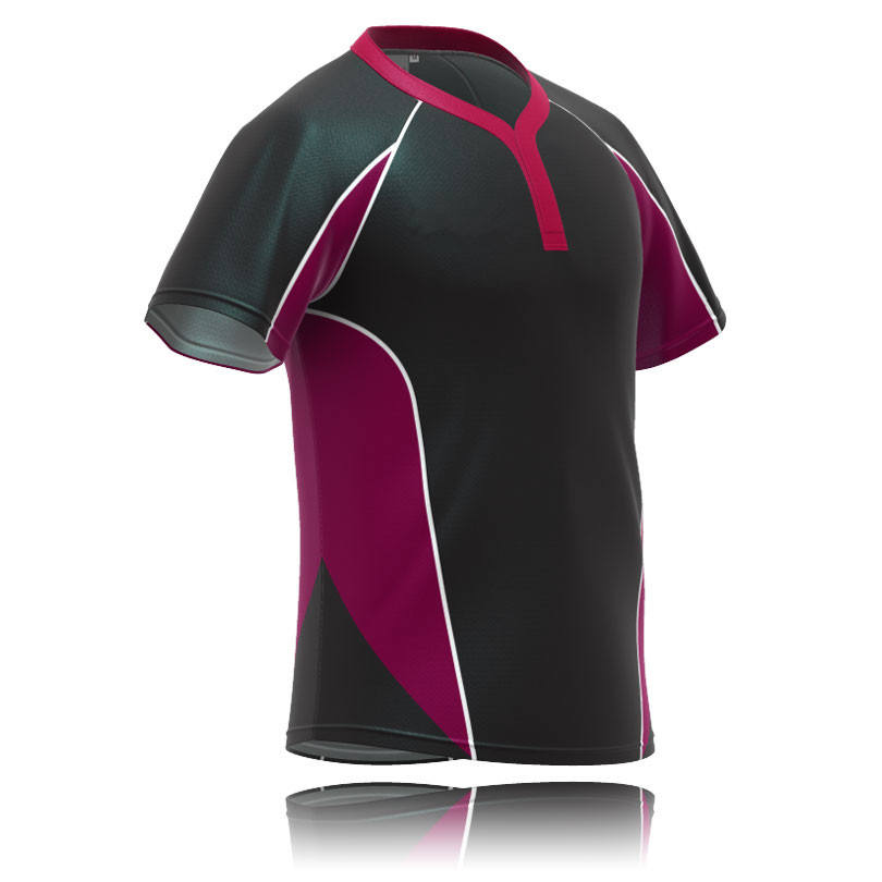 sublimation t shirts blank custom sport rugby jersey