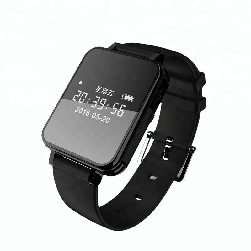 V81 Fashion 8GB 16GB 32GB Memory Waterproof Voice Recording Men Women Digital Wrist Watch Voice Recorder