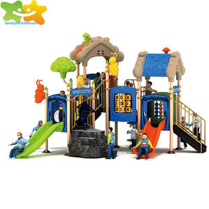 Play ground equipment slide plastic outdoor games for adults