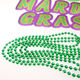Party Beads Manufacturer 7mm Throw beads MOT Mardi Gras beads