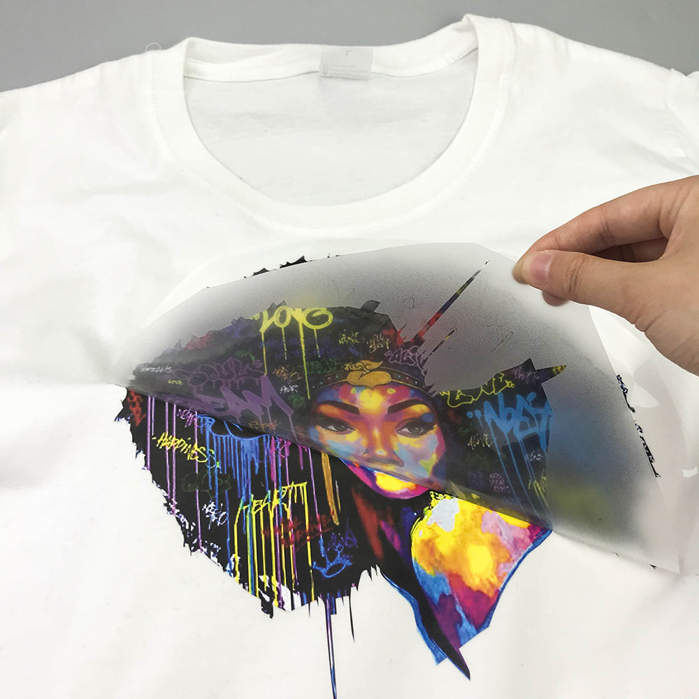 Customer transfer heat press liked High Frequency Design customize 3D Effect TPU Heat Transfer