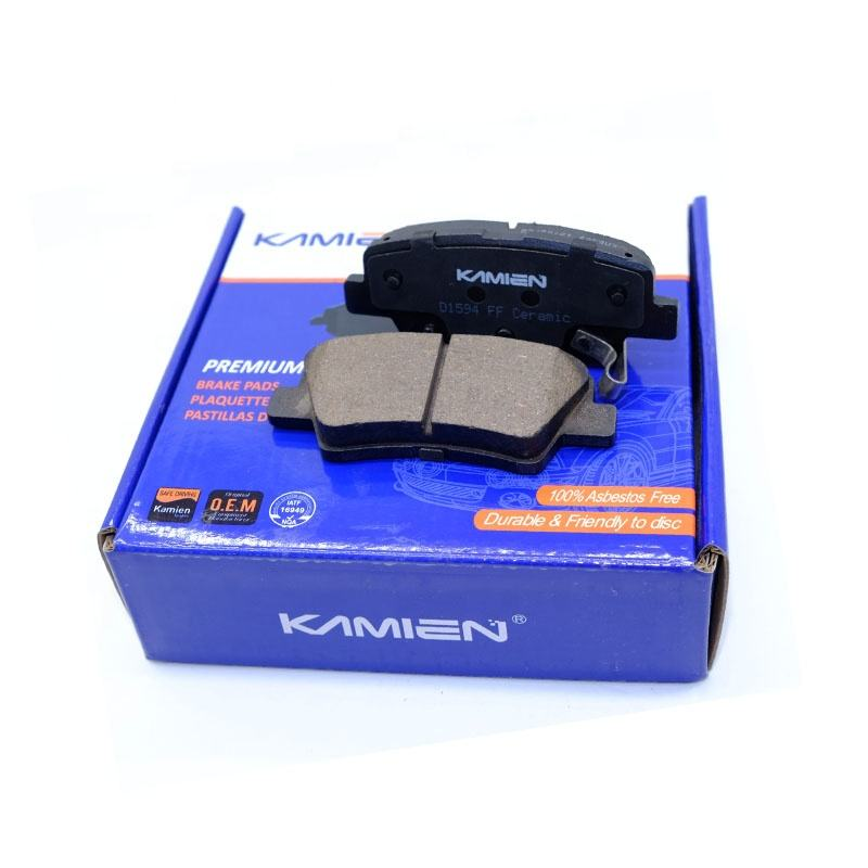 58302-3XA30 korean korea car brake pads for accent with fabric shim