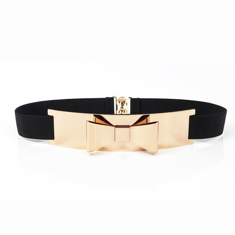 KDA8900 wholesale luxury black belt for young girls