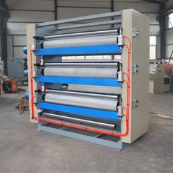 Automatic paper cardboard surface gluing machine