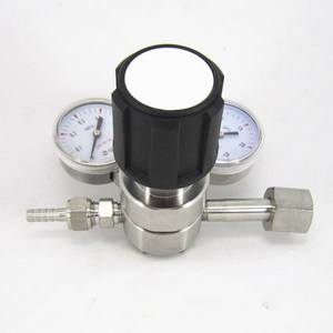 chinese wholesale suppliers stainless steel high pressure relief valve with gauge for gas