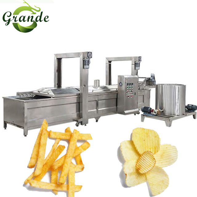 New Design Frozen French Fries/Sweet Potato Chips Making Machine