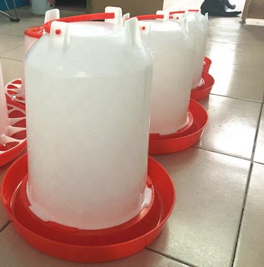 100%PP quality 1L 1.5L 3L 6L 11L 14L Chicken Plastic Water And Poultry Feeder Drinker