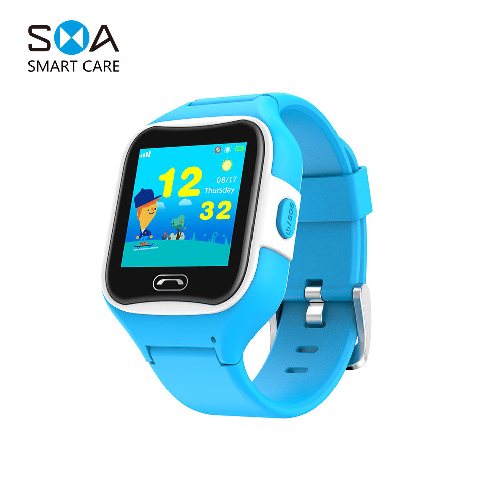 2G Kids Smart Watch GPS Wifi Smartwatch Support GSM WCDMA Sim CardとRotatable Kids GPS Watch Ios No Camera GPS Navigation