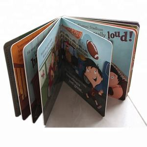 Super Quality Custom Shape Coloring Children's Board Book Printing on Demand