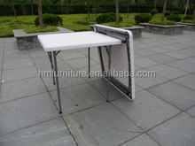87 cm Newest folding plastic square dining tables and chairs for events use from Chinese supplier