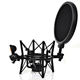 High quality professional microphone shock mount for studio condenser mic shock mount pop Filter