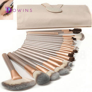 Grosir Makeup Brush Set 18 Pcs, Custom Logo 12 Pcs Kuas Kosmetik, 24 Pcs Private Label Makeup Brush Set