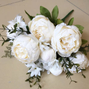 Factory direct wholesale flowers artificial plastic artificial flowers for wedding decoration