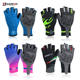 Darevie custom pro cycling gloves, Gel Padded Shockproof/Breathable MTB Bicycling Road Half Finger cycling gloves