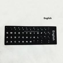 English keyboard layout keyboard stickers letter stickers for laptop Computer Desktop
