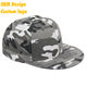 Best Colourful Dri Fit Metal Buckle Big Visor flag embroidered Camo Grey Hip Hop Snapback for kids
