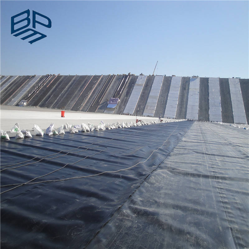 Black Roll HDPE Geomembrane Liners for Plastic Pond and Fish Tank