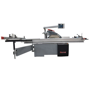 CNC rolwagen zag panel cutting saw houtbewerking machine met digitale hek moving